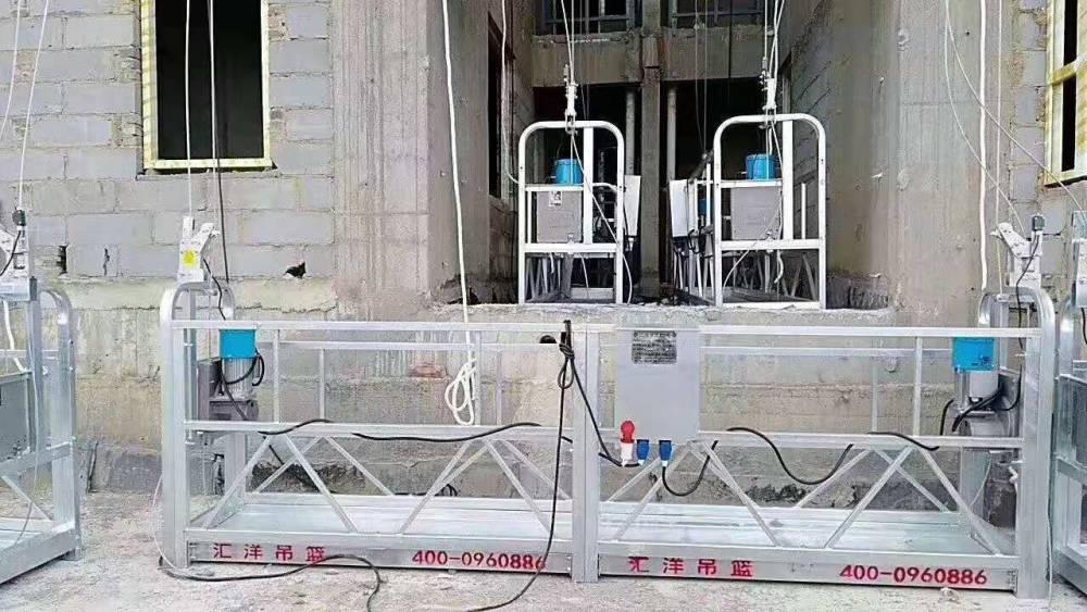 高空建築吊籃的一些安全運用規定