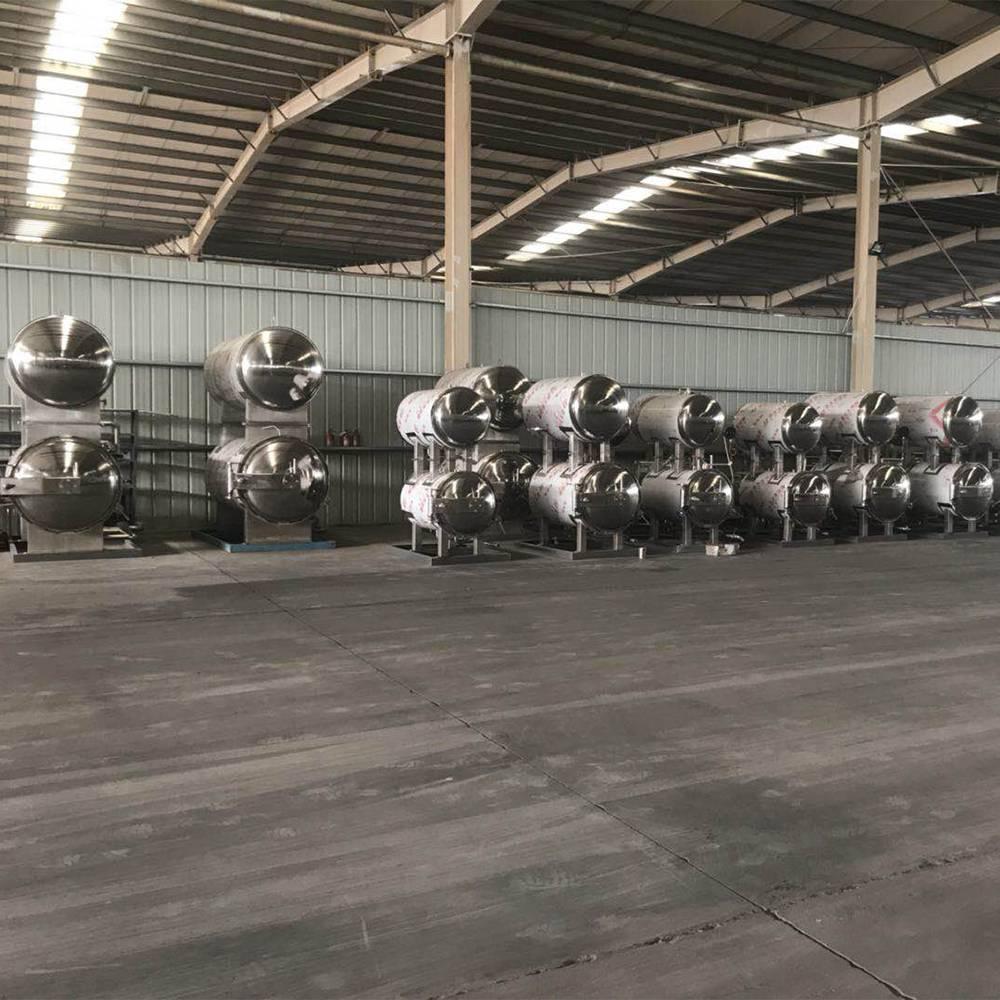 杀菌锅大量现货 杀菌锅展示 延长保质期设备