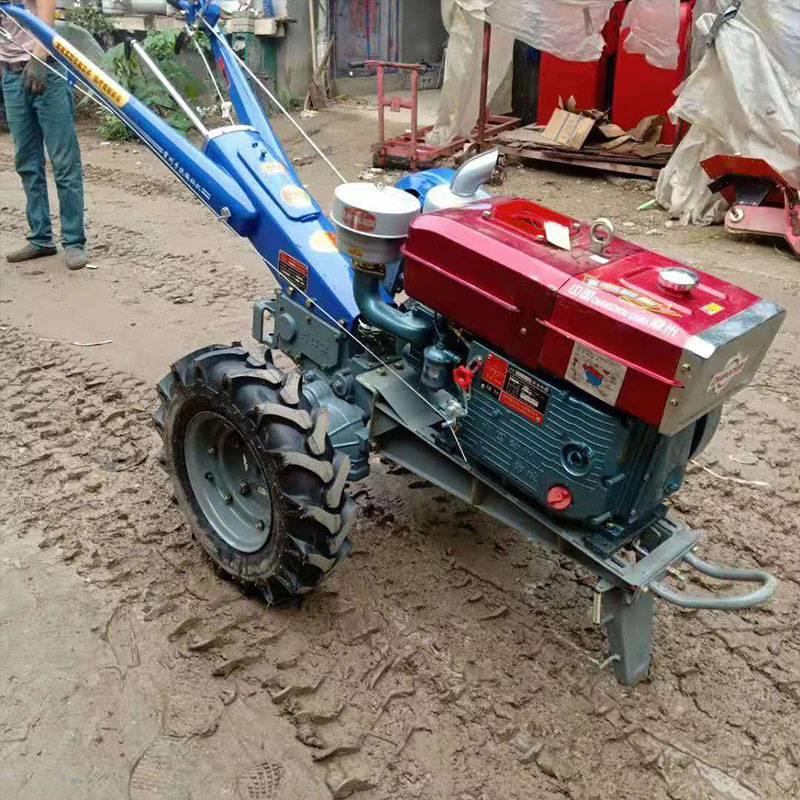 15马力手扶拖拉机多用途大马力犁地机果园大棚耕田机