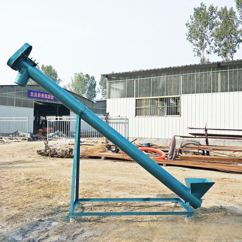钢管螺旋输送机 沙子提升机 粮食颗粒上料机