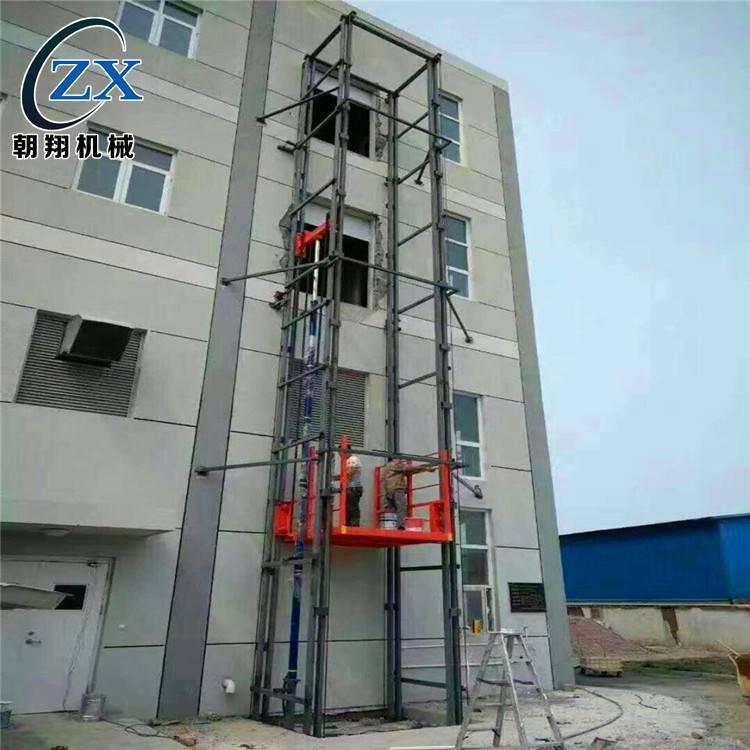 广州升降货梯,惠州2吨3吨导轨升降机,货运电梯 室内升降平台