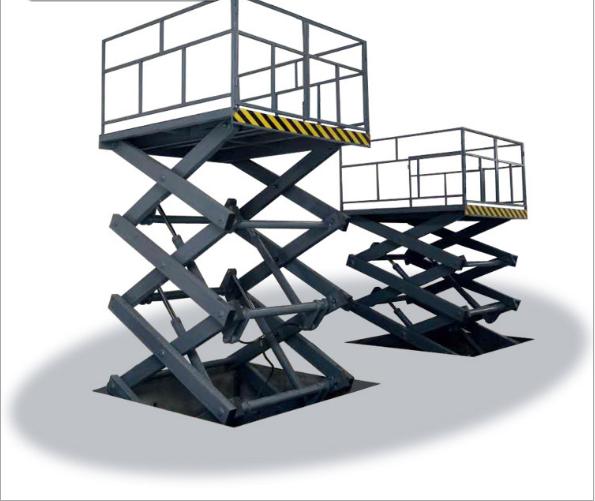 航天专业定做地坑式固定剪叉升降平台|厂房室内外装卸货升降机
