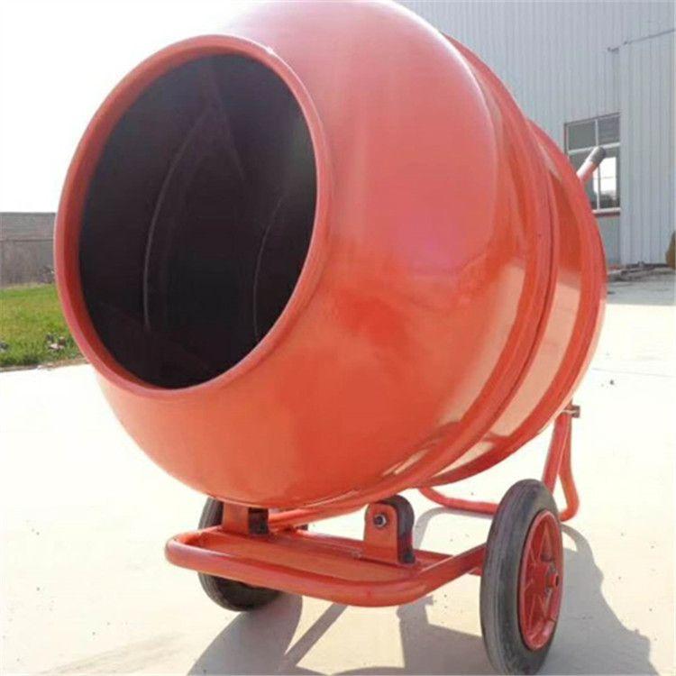 手推电动搅拌机18375473032滚筒式水泥砂浆饲料搅拌机
