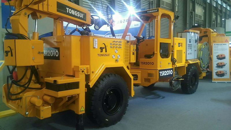 上海通隧機電設備有限公司 TSR2010視頻