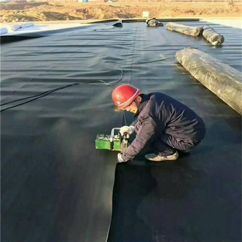 1.5mm聚乙烯土工膜接縫方式-熱熔焊接法