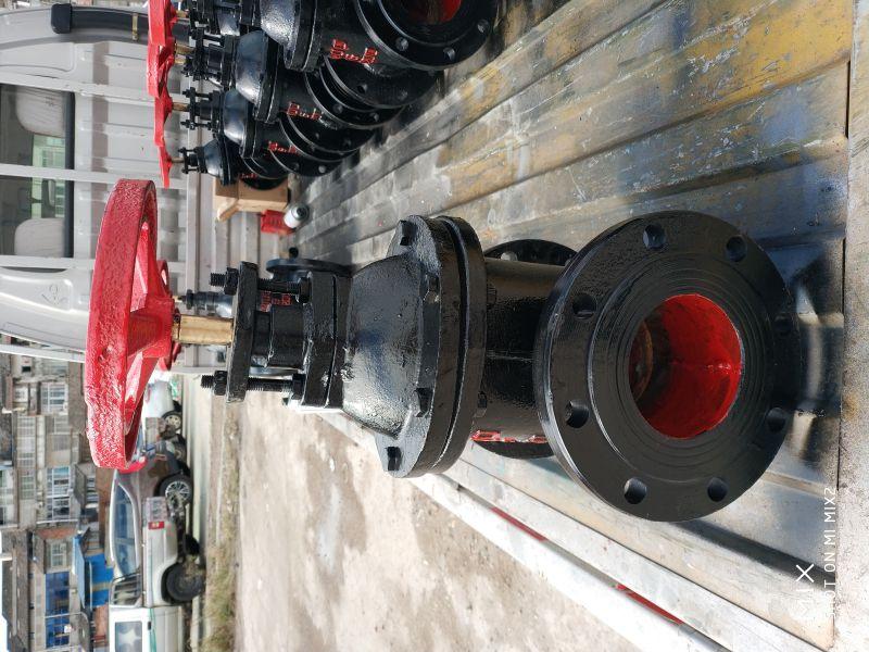 武汉市铸铁阀门销售Z541W-10 DN1400 涡轮手动铸铁闸阀厂家