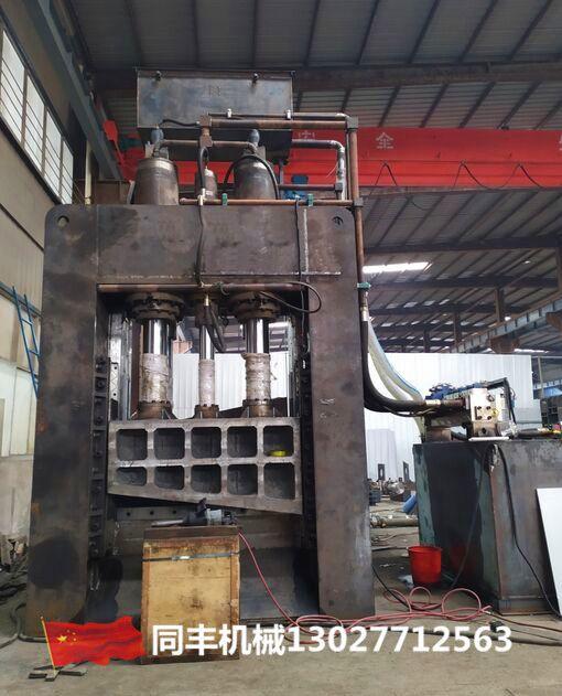 630吨龙门剪视频重废龙门剪切机二手800吨龙门剪