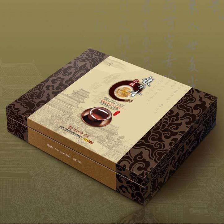 深圳天地盖硬纸板精装盒定制 ***茶叶盒保健品礼盒精品盒定制