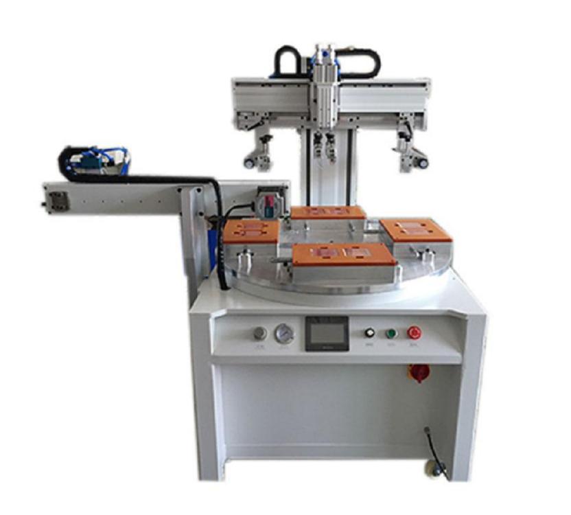 汕头奶瓶刻度线转盘丝印机厂家伺服丝印机