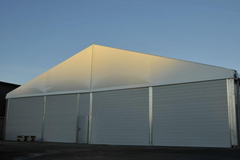 提供昆山外资企业20米跨度白色铝合金德国大棚出租安装