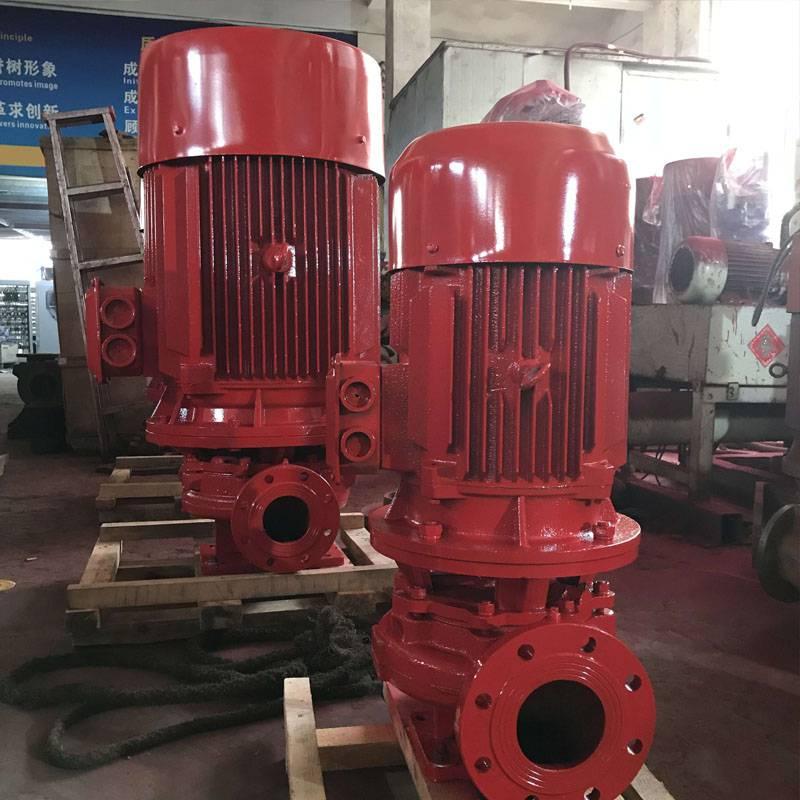 新规消防泵厂家 上海北洋泵业直供 不锈钢轴承叶轮水泵 CCCF标准消防喷淋泵 消火栓泵