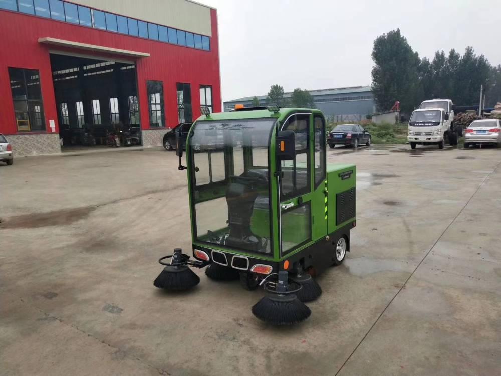 焦作社區物業電動掃地機的智能操作