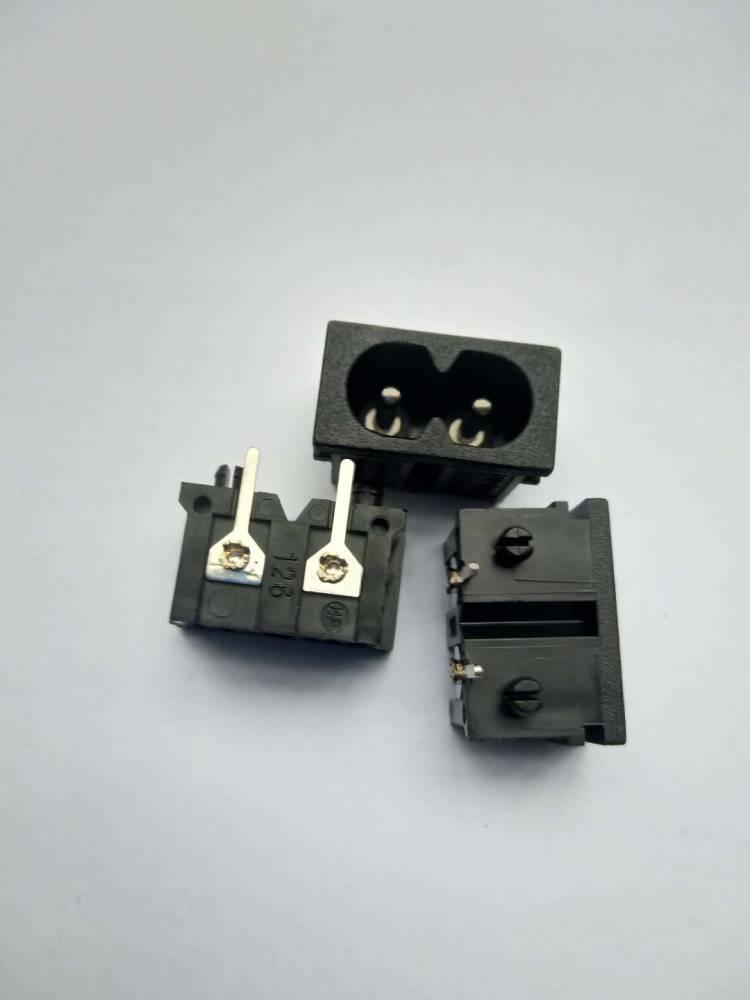 ISO9001八字電源插座 ST-A03-005DT7八字插座