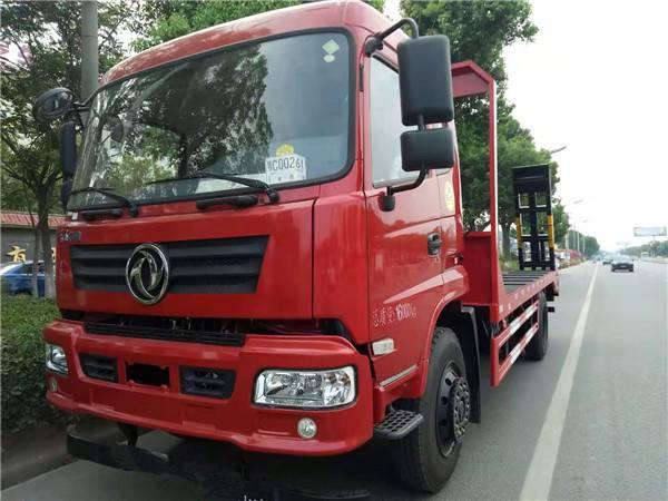 新款东风单桥玉柴6缸180马力可拉18吨挖机拖车销售厂家1.8L