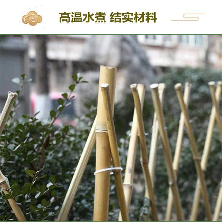 南通海安县pvc护栏竹护栏竹篱笆竹围栏