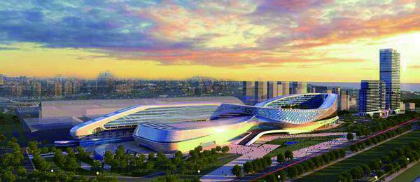 青岛世界博览城展览中心