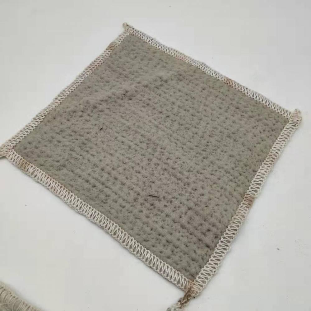 厂家直销钠基膨润土防水毯覆膜隔热防水毯 地下车库用天然防水毯