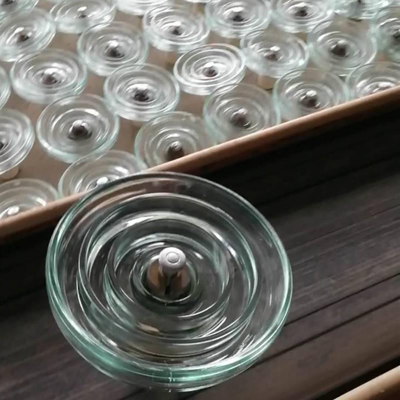 防污型 盘形悬式玻璃绝缘子生产线