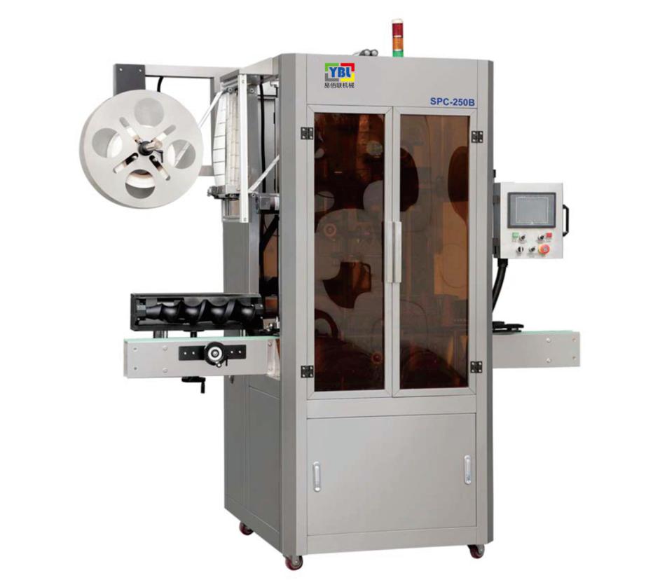 YBL-250全自動收縮膜高速套標機600/分鐘