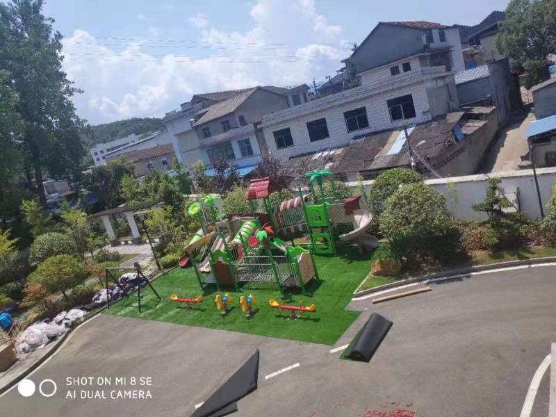锦腾游乐大型组合滑梯生产厂家-社区幼儿园工程塑料滑滑梯摇摇乐