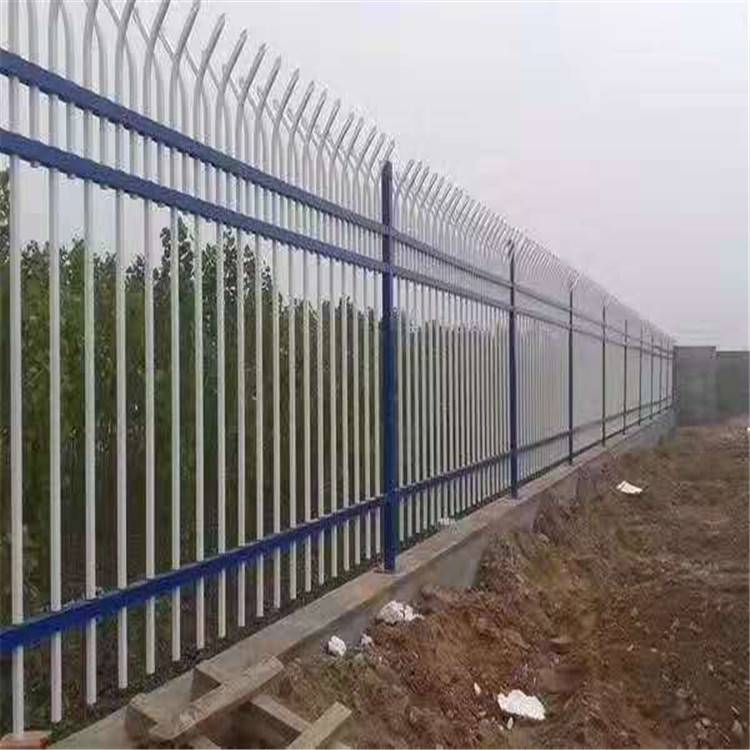 安装锌钢围墙护栏网视频