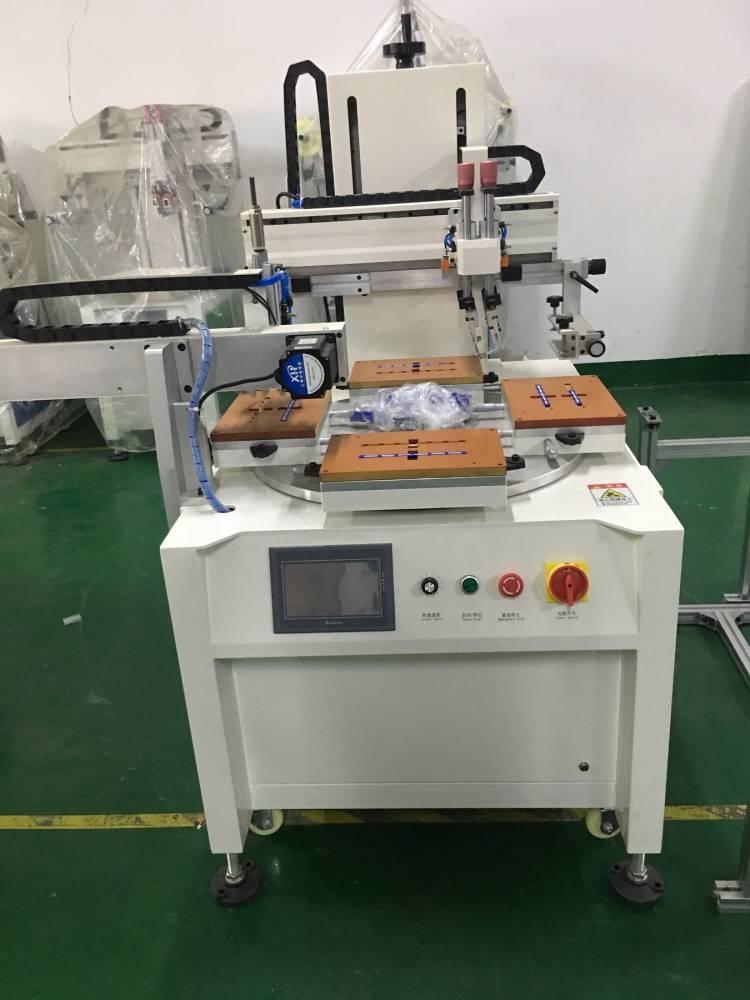 河池塑料餐盒曲面丝印机厂家伺服丝印机