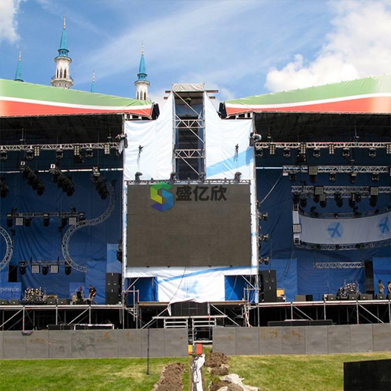演出折叠铝合金舞台 厂家直销舞台灯光桁架演出庆典雷亚架LW1