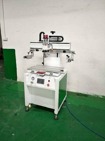 塑料袋丝网印刷机东莞优远2020M丝印机 专业印刷塑料袋