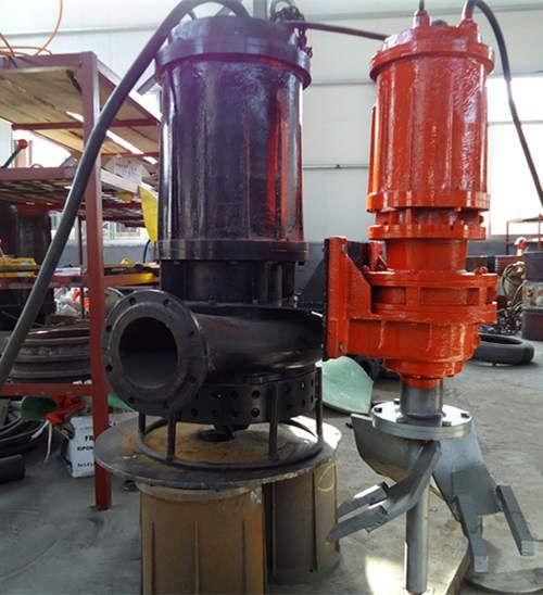 电动铰刀绞吸清淤泵高耐磨材质制造