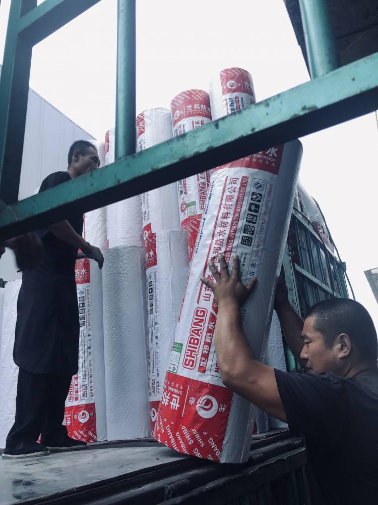 昶泰牌 厂家供应聚乙烯丙纶 高分子防水卷材 防水布 屋顶防水材料