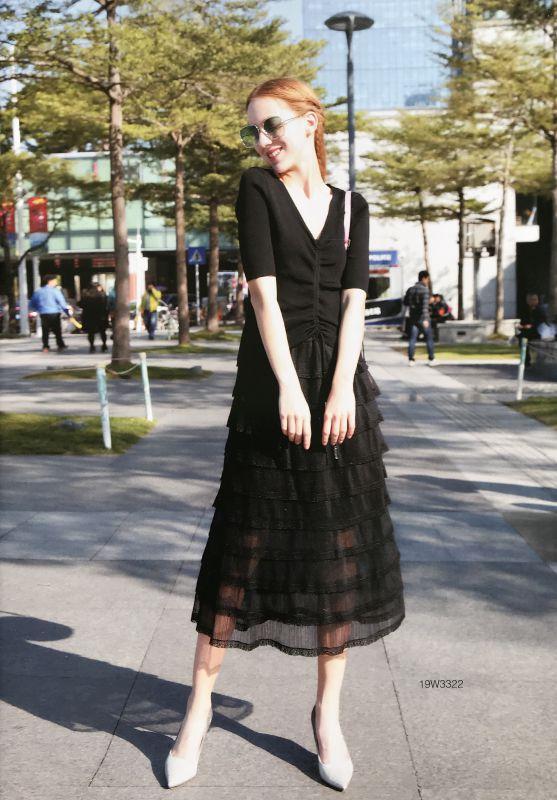 艾利欧风格女装 广州品牌折扣女装批发 库存服装批发