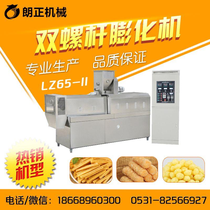 休闲食品膨化机生产线-朗正机械