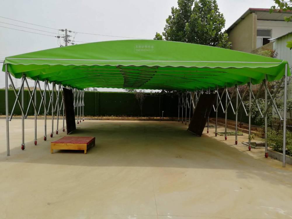 西安顺发批发活动推拉蓬伸缩篷防雨篷质量可靠