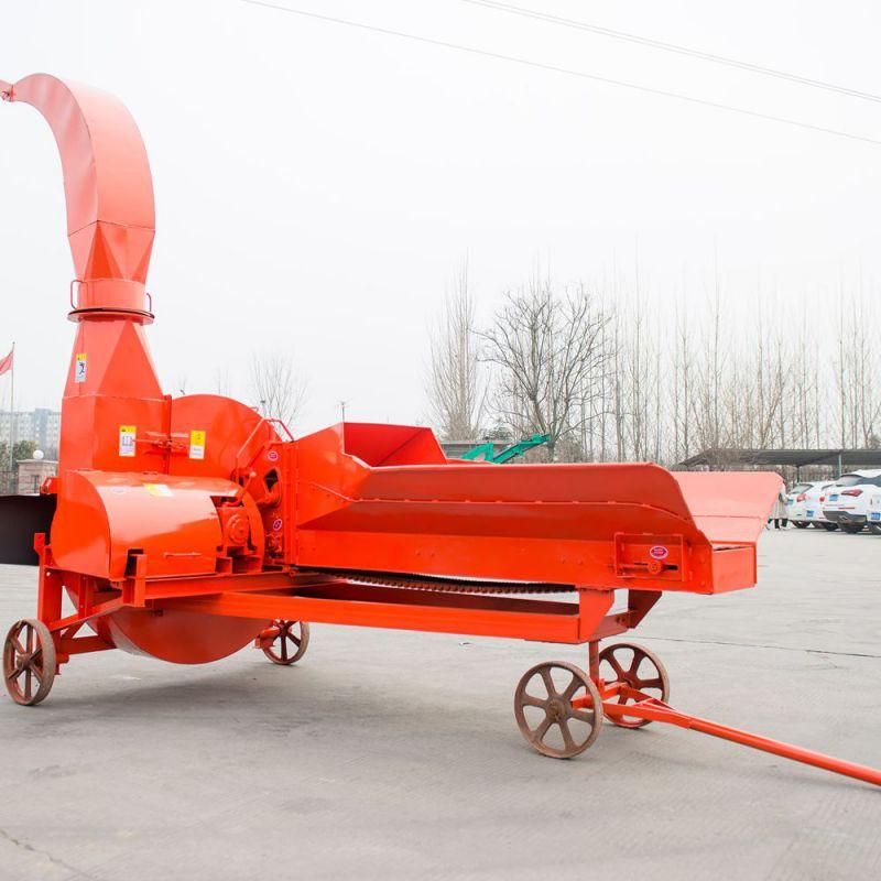 大型鍊式鍘草機 三刀鍘草機 小麥稭稈破碎機