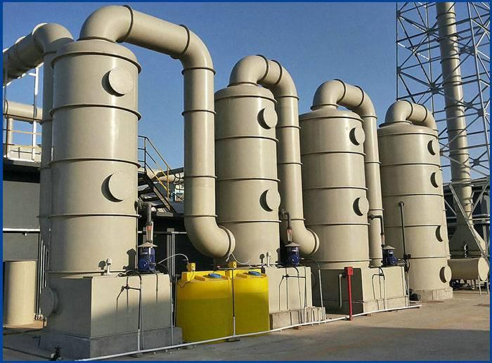 長期供應 高質量pp塔 高效廢氣