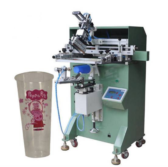 餐具丝印机牛皮纸碗滚印机打包盒盖子移印机快餐盒印刷机