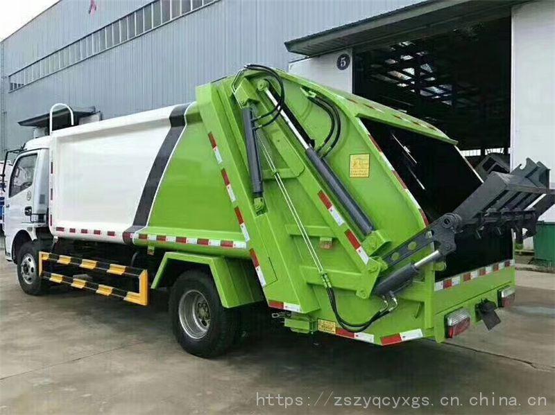 东风8吨压缩垃圾车厂家直销