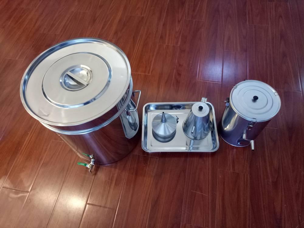 润滑油三级过滤器、石油过滤器、不锈钢过滤油桶