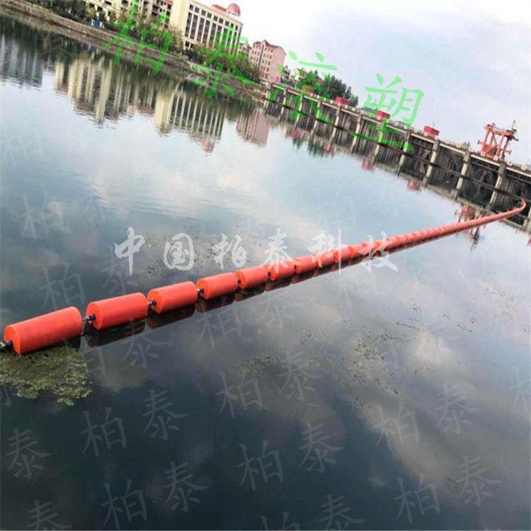 龙羊峡水库拦船浮筒 水电站拦污浮筒