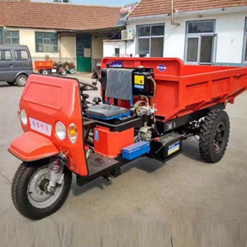 工程建筑三轮车可按需定做 不同马力农用三轮车现货