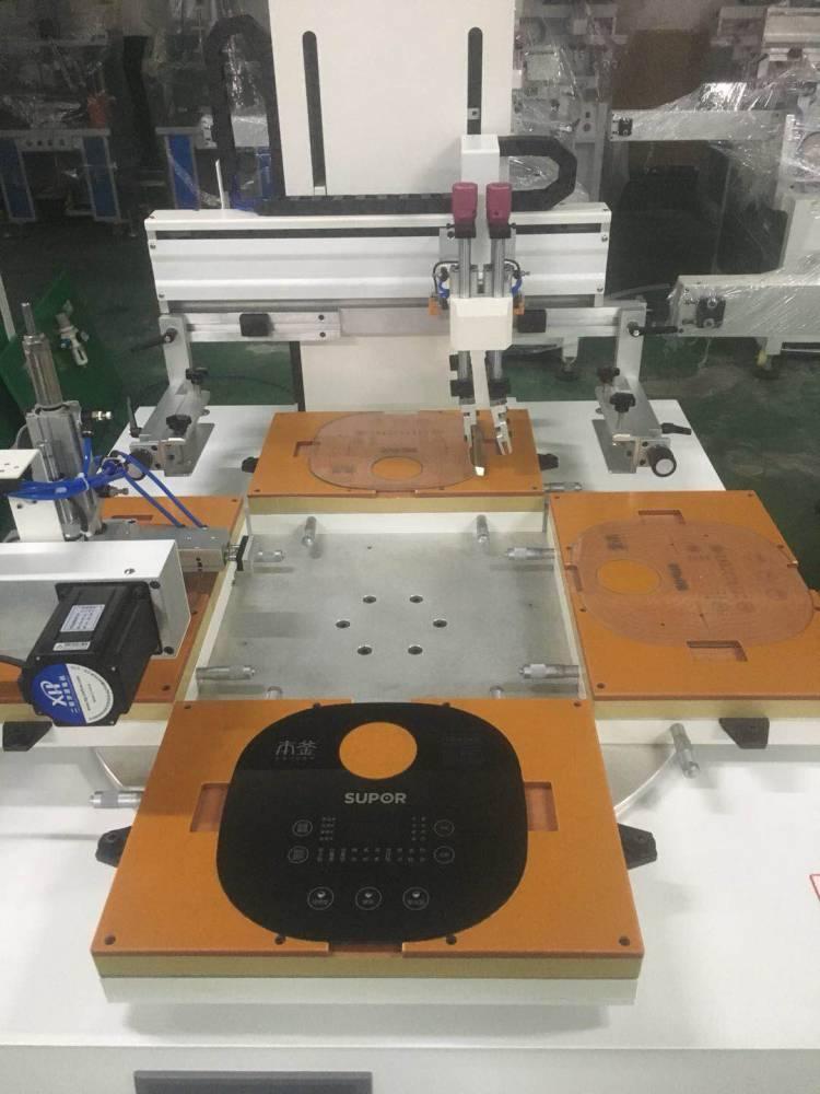 供应导光板丝印机 东莞优远4010P触控开关丝网印刷机 厂家直销
