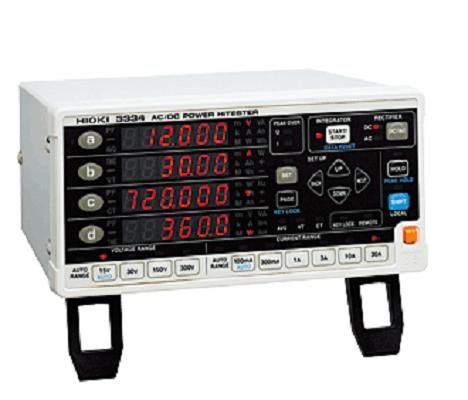 日置Hioki3334-01單相功率計搭載ACDCAC