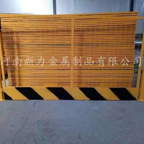 施工临边基坑护栏网 工地临时安全防护栏 电梯门 新力护栏厂
