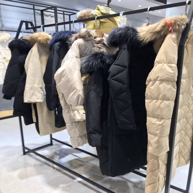 诗蓓蜜冬装 冬季女装短款羽绒服新款上市 品牌折扣女装店进货