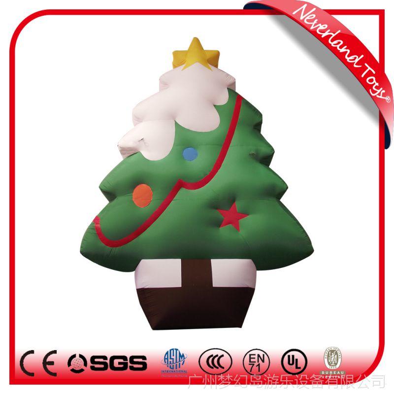 充气圣诞功能充气圣诞树圣诞老人麋鹿充气圣诞纸的造型的设计图图片