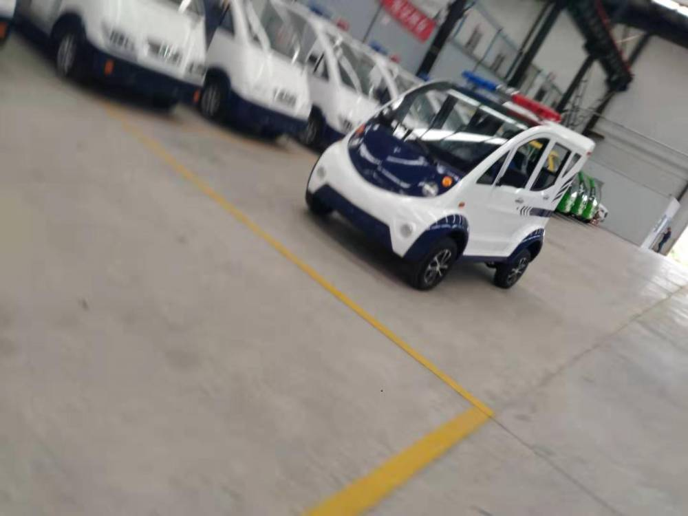 电动巡逻车——在杨凌中石厂生产销售中