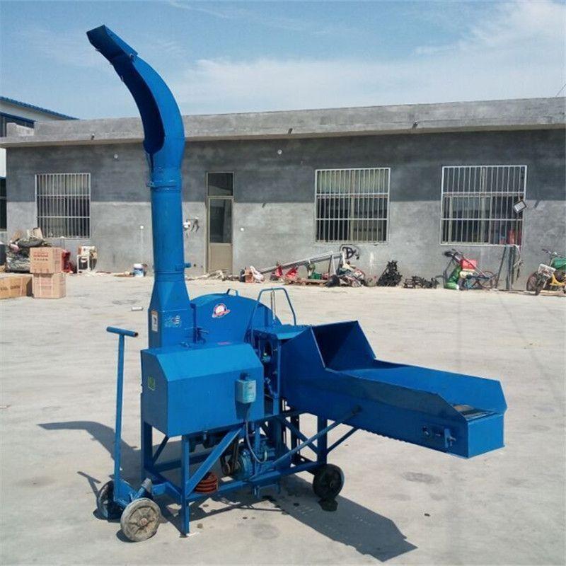 自动进料铡草机 小型干湿两用铡草揉丝机 大型多功能铡草粉碎机