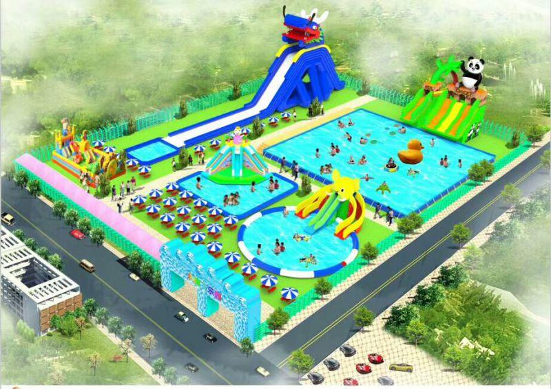 夏季水上乐园嘉年华活动游乐设备