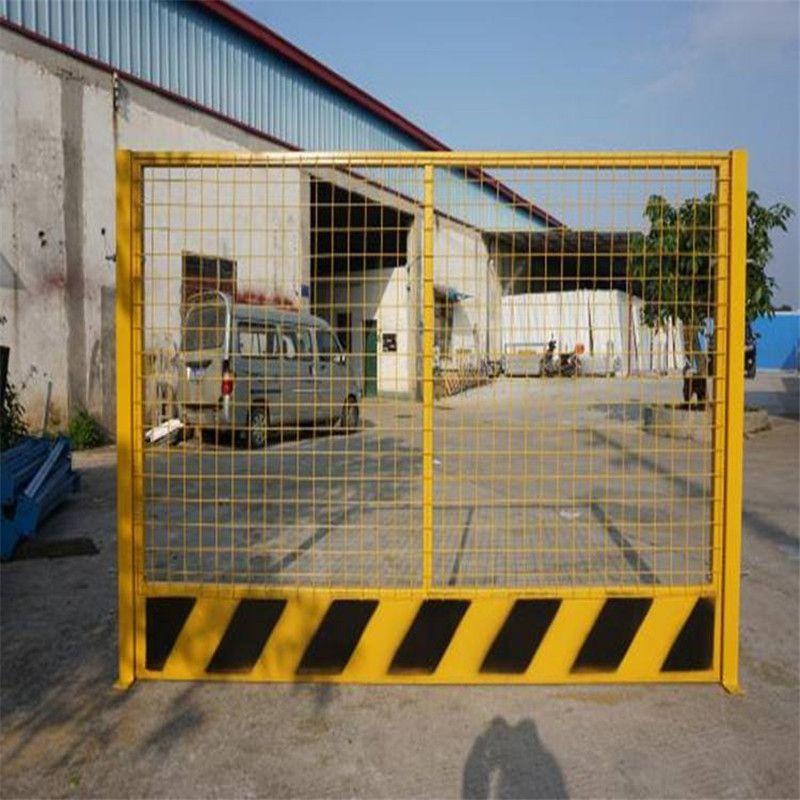 基坑护栏厂家 工地浸塑围栏现货 临边防护栏