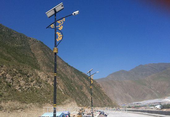 供应西藏民族特色太阳能路灯价格